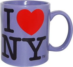I Love New York Colorful Mugs (Purple)