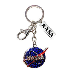 Dangle Keychains Perfect Souvenir Gift Collection (NASA Logo)