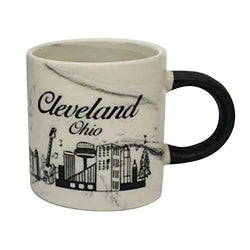 American Cities and States of 11 oz Coffee Mugs (Cleveland2)