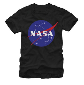 Fifth Sun NASA Logo Adult T-shirt - Black (Small)