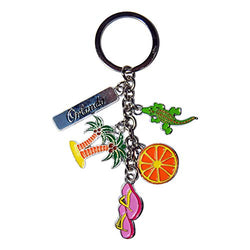 American Cities and States Metal Quality Keychains (Orlando2)