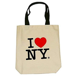 City-Souvenirs I Love New York Tote Bags, Souvenirs, Cream