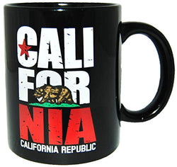 State of California Bear Design California Republic 11 oz Coffee Mug
