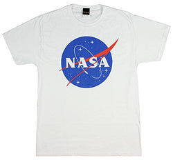 Fifth Sun NASA Logo Adult T-Shirt - White Med