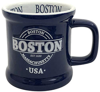 Boston USA Large Souvenir Coffee Mug Classic Design Long Lasting Durable Novelty Coffee Mug
