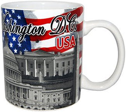 American Cities and States of 11 oz Coffee Mugs (Washington D.C.)