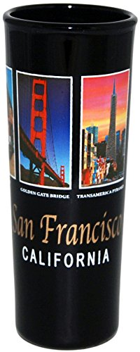 San Francisco Landmark Picture Designed Large Souvenir Shot Glass