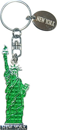 New York's Statue of Liberty Souvenir Gift Keychain