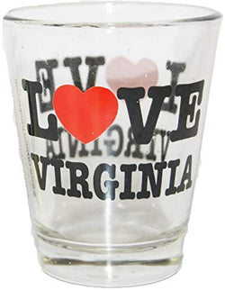 Love Virginia Souvenir Shot Glass