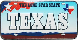 USA-States License Plate Magnets (Texas)