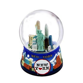 New York Snow Globe - 45MM Skyline716, New York Snow Globes, New York Souvenirs