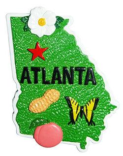 American Cities and States of Magnets (Atlanta Magnet)