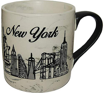 American Cities and States of 11 oz Coffee Mugs (New York Skyline)