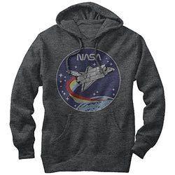 NASA Space Rocket Mens Graphic Lightweight Hoodie,Small