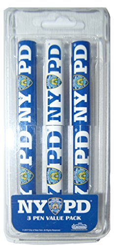 Souvenir 3 Pack Pens with Various Color & Design (NYPD)
