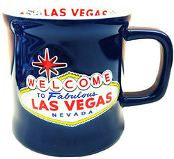 American Cities and States of 11 oz Coffee Mugs (Las Vegas Blue)
