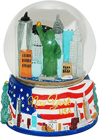 USA Company New York City Skyline Snow Globe, 35 mm