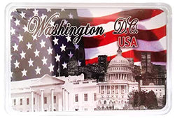 CityDreamShop Patriotic USA Playing Cards Featuring The White House and Washington D.C.