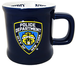 American Cities and States of 11 oz Coffee Mugs (NYPD 2)