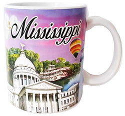 State of Mississippi Beautifully Designed 11 Ounce Coffee Mug