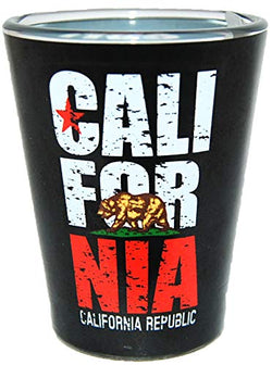 American Cities and States of Cool Shot Glass's (California)