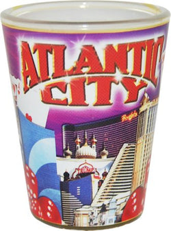 American Cities and States of Cool Shot Glass's (Atlantic City)