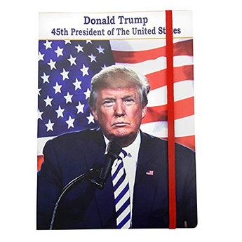 Donald Trump 45th President of the United States Exclusive Novelty Notebook