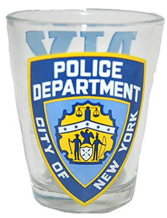 American Cities and States of Cool Shot Glass's (NYPD)