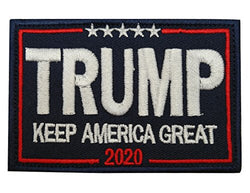 A-Lighting Keep America Great Donald Trump 2020 Tactical Morale Patch