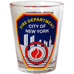 Fire Department New York City Souvenir FDNY Long Lasting Durable Novelty Shot Glass