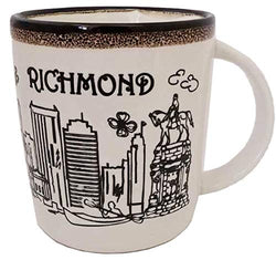 American Cities and States of 11 oz Coffee Mugs (Richmond)