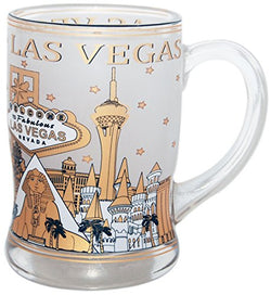 Collection of Designed Beer Mugs from Cities and States Across USA (Las Vegas)