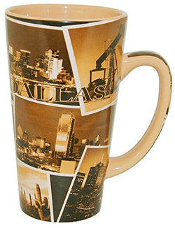 American Cities and States of 11 oz Coffee Mugs (Dallas Texas)