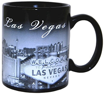 Las Vegas at Night, Skyline Coffee Mug