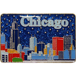 American Cities and States of Magnets (Chicago Skyline 2)