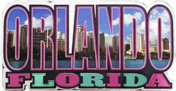 Orlando Florida Refrigerator Photo Magnet