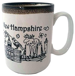 American Cities and States of 11 oz Coffee Mugs (Hampshire Tall Mug)