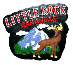 Arkansas Magnet featuring the City of Little Rock