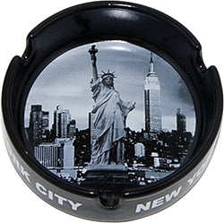 CityDreamShop New York City Skyline at Night Souvenir Ashtray