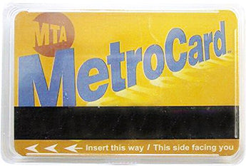 Collection of City and States Detailed Souvenir Playing Cards (New York Metro Card)