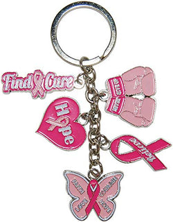 Dangle Keychains Perfect Souvenir Gift Collection (Cure for Cancer)