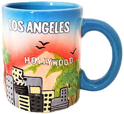 American Cities and States of 11 oz Coffee Mugs (Los Angeles)