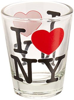 Great Places To You I Love New York Shot Glass, Officially Licensed
