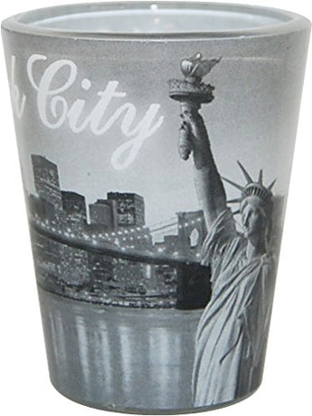 American Cities and States of Cool Shot Glass's (New York)