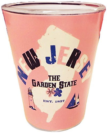 State of New Jersey Souvenir Shot Glass