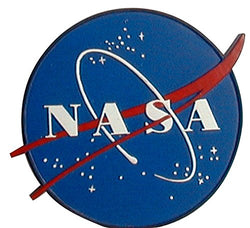 CityDreamShop's NASA Space Station Meatball Logo Poly Magnet
