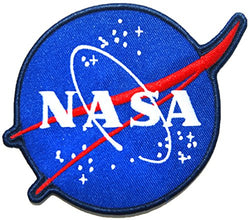 NASA Stylish Souvenir Patch (NASA Official Logo)