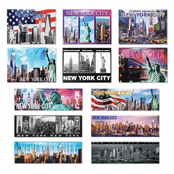 American Cities and States of Magnets (Unique New York City)