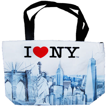 I Love NY City Skyline Tote Bag