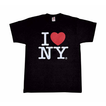 I Love New York Black Classic Tee Shirt  Comes in All Sizes
